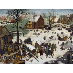 Pieter Bruegel   Питер Брейгель - Перепись в Вифлееме