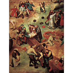Pieter Bruegel   Питер Брейгель - Детские игры (фрагмент)