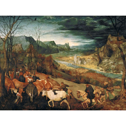Pieter Bruegel   Питер Брейгель - Возвращение стада