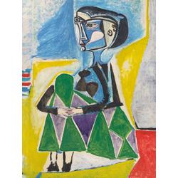 Pablo Picasso | Пабло Пикассо - Жаклин на корточках