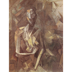 Pablo Picasso | Пабло Пикассо - Сидящая женщина