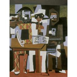 Pablo Picasso | Пабло Пикассо - Три музыканта
