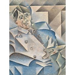 Pablo Picasso | Пабло Пикассо - Хуан Грис портрет