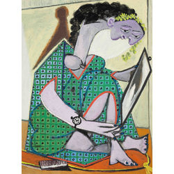 Pablo Picasso | Пабло Пикассо - Женщина с часами
