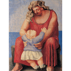 Pablo Picasso | Пабло Пикассо - Мать и дитя