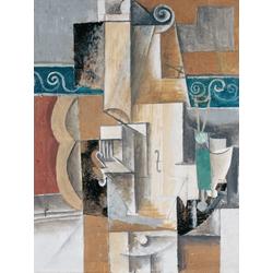 Pablo Picasso | Пабло Пикассо - Скрипка и гитара