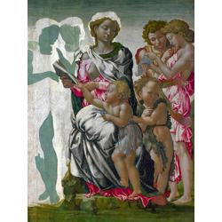 Michelangelo The Manchester Madonna | Микеланджело