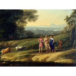 Claude Lorrain   Лоррен Клод - Пейзаж с Кефалом и Прокрисом объединенными Дианой