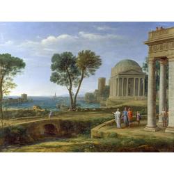 Claude Lorrain   Лоррен Клод - Пейзаж с Аэносом в Делосе