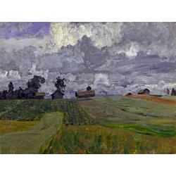 Isaac Levitan - Stormy Day, 1897 | Левитан Исаак