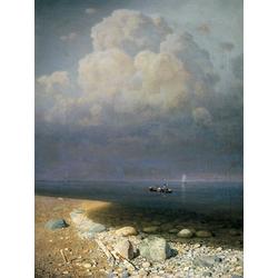 Куинджи Архип - Ладожское озеро, 1870