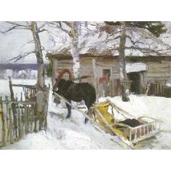 Korovin Konstantin   Коровин Константин - Зима, 1894