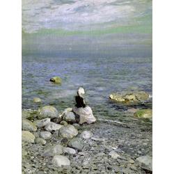 Korovin Konstantin   Коровин Константин - На берегу Черного моря, 1890