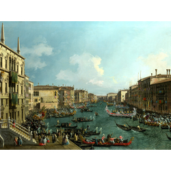 Canaletto | Каналетто - Регата на Гранд Канале