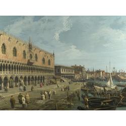 Canaletto | Каналетто - Венеция, Дворец Дожей и Рива дельи Скьявони
