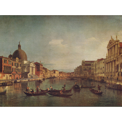 Canaletto | Каналетто - Венеция, Гранд Канал и Сен Симеоне Пикколо
