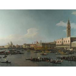 Canaletto | Каналетто - Венеция, Акватория Сан Марко в День Вознесения