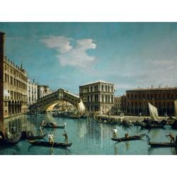 Canaletto - The Rialto Bridge, Venice | Каналетто