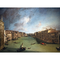 Canaletto - The Grand Canal, View of the Palazzo Balbi towards the Rialto Bridge | Каналетто