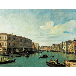 Canaletto - The Grand Canal from the Rialto Bridge | Каналетто