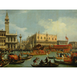 Canaletto - The Betrothal of the Venetian Doge to the Adriatic Sea | Каналетто