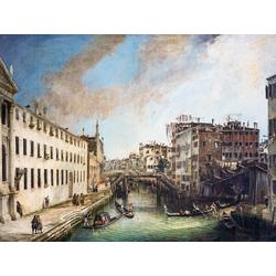 Canaletto - Rio dei Mendicanti | Каналетто