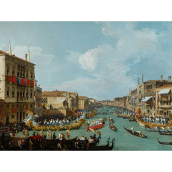 Canaletto - Regatta on the Grand Canal | Каналетто