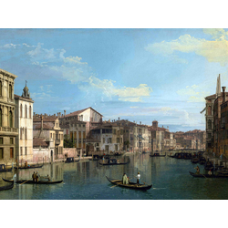 Canaletto - Grand Canal from Palazzo Flangini to Palazzo Bembo | Каналетто