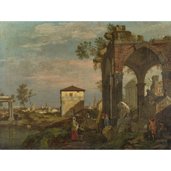 Canaletto - Capriccio with Motifs from Padua | Каналетто