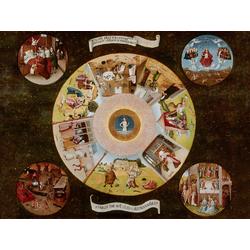 Jheronimus Bosch | Иероним Босх - Семь смертных грехов и Четыре последние вещи