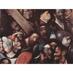Jheronimus Bosch | Иероним Босх - Несение креста, Христос и Св. Вероника