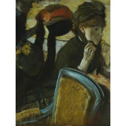 Edgar Degas | Дега Эдгар - У модистки