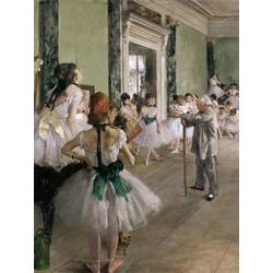 Edgar Degas | Дега Эдгар - Танцевальный класс