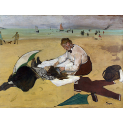 Edgar Degas | Дега Эдгар - Сцена на пляже