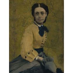 Edgar Degas | Дега Эдгар - Принцесса Паулина Метерник