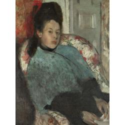 Edgar Degas | Дега Эдгар - Портерт Елены Карато