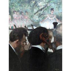 Edgar Degas | Дега Эдгар - Музыканты оркестра