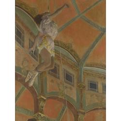 Edgar Degas | Дега Эдгар - Мисс Ла Ла в цирке Фернандо
