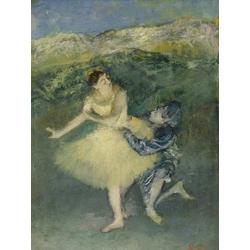 Edgar Degas | Дега Эдгар -  Арлекин и Коломбина