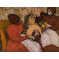 Edgar Degas - The Milliners | Дега Эдгар