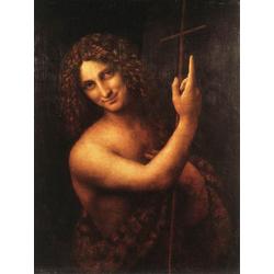 Leonardo da Vinci - St. John the Baptist, 1513 | Леонардо да Винчи