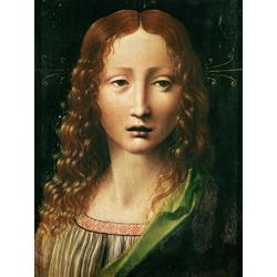 Leonardo da Vinci - Head of the Saviour | Леонардо да Винчи