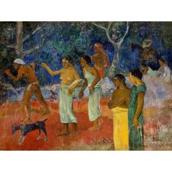 Paul Gauguin | Гоген Поль - Сцена из жизни таитян
