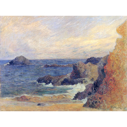Paul Gauguin | Гоген Поль - Скалистое морское побережье