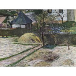 Paul Gauguin | Гоген Поль - Пейзаж близ Осни
