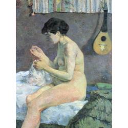 Paul Gauguin | Гоген Поль - Обнаженная