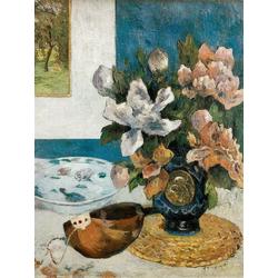 Paul Gauguin | Гоген Поль - Натюрморт с мандолиной