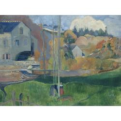 Paul Gauguin | Гоген Поль - Мельница Давида в Понт-Авене