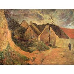 Paul Gauguin | Гоген Поль - Крутая дорога в Осни