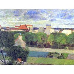 Paul Gauguin | Гоген Поль - Крестьяне, занимающиеся разведением гусей